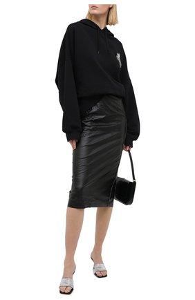 Женская юбка N21 черного цвета, арт. 20I N2M0/C011/2821 | Фото 2