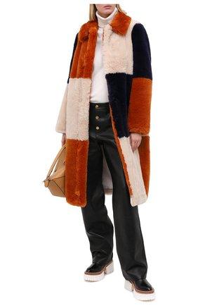 Женская шуба STELLA MCCARTNEY разноцветного цвета, арт. 601930/SPB09 | Фото 2