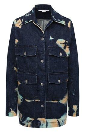 Женская джинсовая куртка STELLA MCCARTNEY темно-синего цвета, арт. 601791/S0H03 | Фото 1
