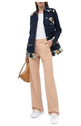 Женская джинсовая куртка STELLA MCCARTNEY темно-синего цвета, арт. 601791/S0H03 | Фото 2