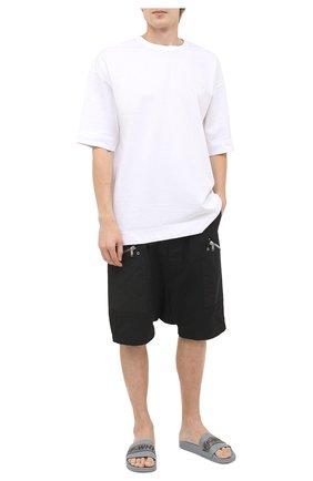 Мужские шлепанцы industrial OFF-WHITE серого цвета, арт. 0MIA088E20FAB0040606 | Фото 2