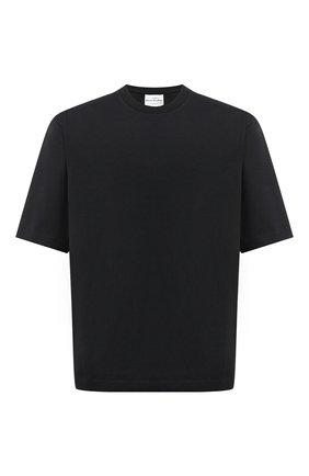 Мужская хлопковая футболка ACNE STUDIOS черного цвета, арт. BL0195 | Фото 1