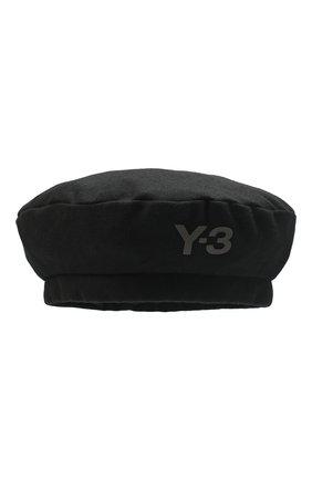 Мужская берет Y-3 черного цвета, арт. GK4317/M | Фото 1