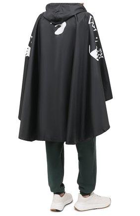 Мужская пончо OFF-WHITE черного цвета, арт. 0MZG048F20FAB0011001 | Фото 2