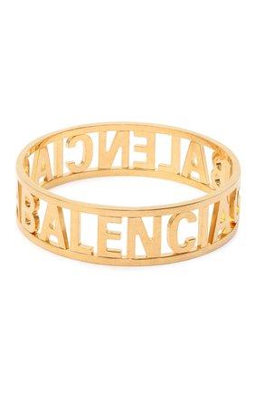 Женский браслет BALENCIAGA золотого цвета, арт. 624357/TZ99G | Фото 1