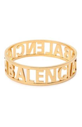 Женский браслет BALENCIAGA золотого цвета, арт. 624357/TZ99G | Фото 2