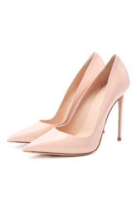 Женская кожаные туфли LE SILLA розового цвета, арт. 2101M100R1PPKAB | Фото 1