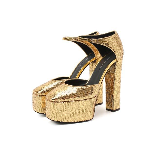 Текстильные туфли Giuseppe Zanotti Design