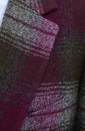 Женский шерстяной жакет DRIES VAN NOTEN хаки цвета, арт. 202-10430-1038 | Фото 6