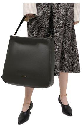 Женский сумка rendez-vous COCCINELLE зеленого цвета, арт. E1 GT0 13 02 01 | Фото 2