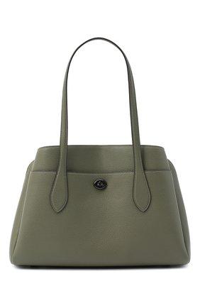 Женская сумка lora COACH хаки цвета, арт. 88340 | Фото 1