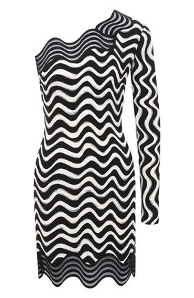 Женское платье из вискозы STELLA MCCARTNEY черного цвета, арт. 601700/SPA16   Фото 1