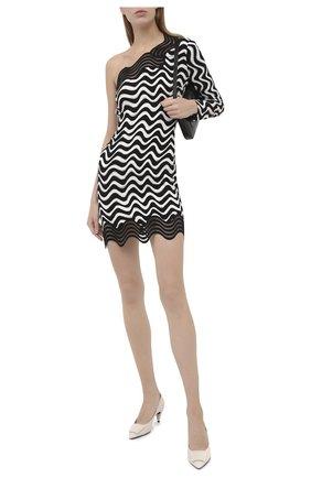 Женское платье из вискозы STELLA MCCARTNEY черного цвета, арт. 601700/SPA16   Фото 2