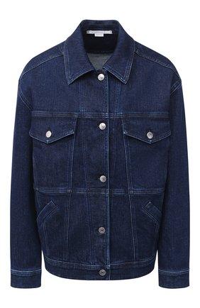 Женская джинсовая куртка STELLA MCCARTNEY темно-синего цвета, арт. 601802/S0H10 | Фото 1