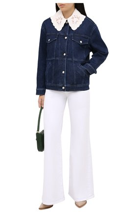 Женская джинсовая куртка STELLA MCCARTNEY темно-синего цвета, арт. 601802/S0H10 | Фото 2