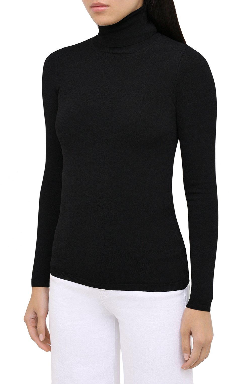 Женская водолазка из вискозы STELLA MCCARTNEY черного цвета, арт. 601794/S2076 | Фото 3