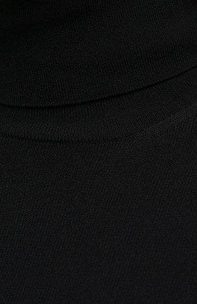 Женская водолазка из вискозы STELLA MCCARTNEY черного цвета, арт. 601794/S2076 | Фото 5