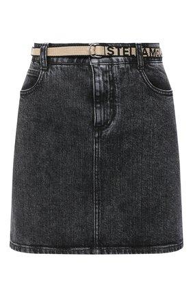 Женская джинсовая юбка STELLA MCCARTNEY серого цвета, арт. 600450/S0H05 | Фото 1