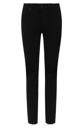 Женские джинсы PAIGE черного цвета, арт. 6047521-8137 | Фото 1