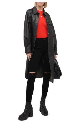 Женские джинсы PAIGE черного цвета, арт. 6047521-8137 | Фото 2