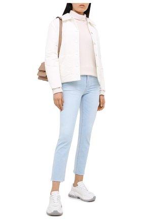 Женские джинсы PAIGE голубого цвета, арт. 6280H36-1632 | Фото 2
