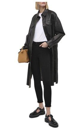Женские джинсы PAIGE черного цвета, арт. 6714521-2139 | Фото 2