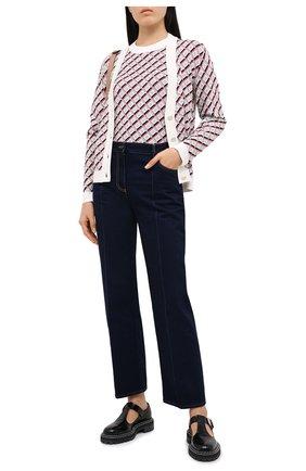 Женский пуловер из вискозы ESCADA розового цвета, арт. 5033553 | Фото 2