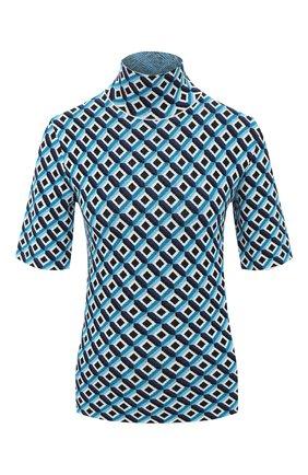 Женский пуловер из вискозы ESCADA голубого цвета, арт. 5033890 | Фото 1