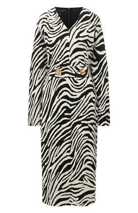 Женское платье ESCADA черно-белого цвета, арт. 5034221 | Фото 1