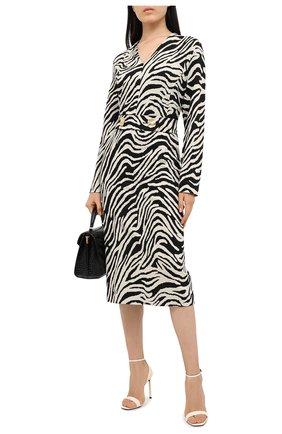 Женское платье ESCADA черно-белого цвета, арт. 5034221 | Фото 2