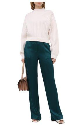 Женские брюки TOM FORD зеленого цвета, арт. PAW327-FAX727 | Фото 2