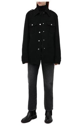 Женские кожаные ботинки BALLY черного цвета, арт. GRADY-FUR/00 | Фото 2