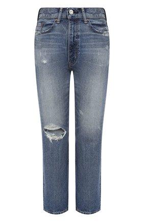 Женские джинсы MOUSSY голубого цвета, арт. 025DAC11-1260 | Фото 1
