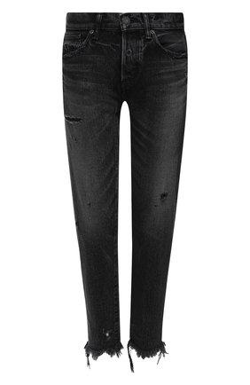 Женские джинсы MOUSSY черного цвета, арт. 025DAC11-2450 | Фото 1