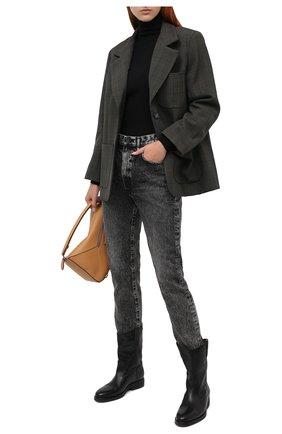 Женские джинсы MOUSSY черного цвета, арт. 025DAC11-2510 | Фото 2