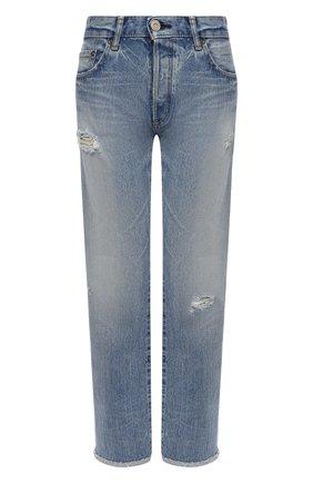 Женские джинсы MOUSSY голубого цвета, арт. 025DAC11-2550 | Фото 1