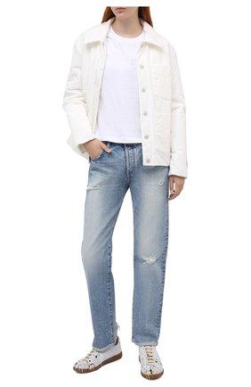 Женские джинсы MOUSSY голубого цвета, арт. 025DAC11-2550 | Фото 2