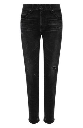 Женские джинсы MOUSSY черного цвета, арт. 025DAC12-1040 | Фото 1