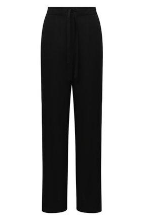 Женские шерстяные брюки ANN DEMEULEMEESTER черного цвета, арт. 2002-1414-P-170-099 | Фото 1