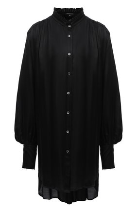 Женская блузка из вискозы и шелка ANN DEMEULEMEESTER черного цвета, арт. 2002-2014-P-122-099 | Фото 1
