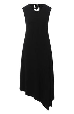 Женское платье из вискозы и шерсти ANN DEMEULEMEESTER черного цвета, арт. 2002-2204-P-181-099 | Фото 1
