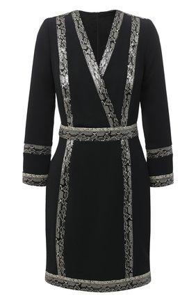 Женское платье ZUHAIR MURAD черного цвета, арт. DRP20354/CRCA007 | Фото 1