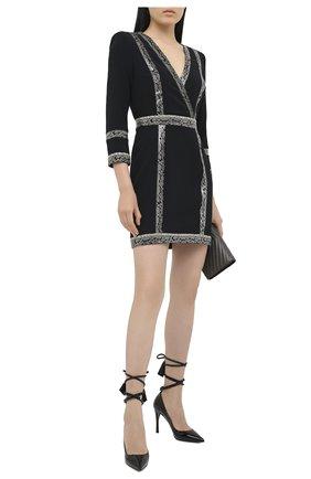 Женское платье ZUHAIR MURAD черного цвета, арт. DRP20354/CRCA007 | Фото 2