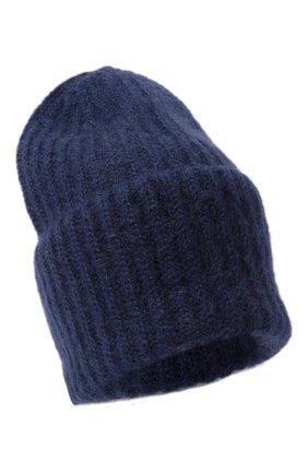 Женская шапка TAK.ORI темно-синего цвета, арт. AC043MW018PF17 | Фото 1