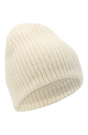 Женский шапка из смеси шерсти и кашемира TAK.ORI белого цвета, арт. HTK50021WC030AW19 | Фото 1