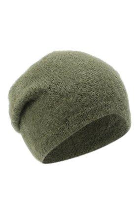 Женский шапка TAK.ORI хаки цвета, арт. HTK50022WM050AW19 | Фото 1
