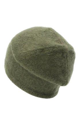 Женский шапка TAK.ORI хаки цвета, арт. HTK50022WM050AW19 | Фото 2