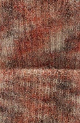 Женская шапка TAK.ORI светло-розового цвета, арт. HTK50027WM050AW19 | Фото 3 (Материал: Текстиль, Шерсть, Синтетический материал)