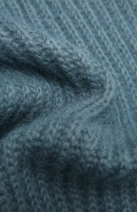 Женский шерстяной шарф TAK.ORI голубого цвета, арт. AC105MW018PF17 | Фото 2
