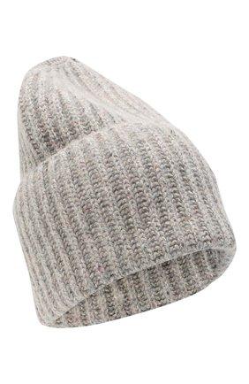 Женский шапка из шерсти и шелка TAK.ORI серого цвета, арт. HTK70005WS025AW20 | Фото 1